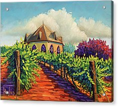 Ste Chappelle Winery Acrylic Print