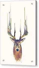 Steadfast Acrylic Print by Amy Hamilton