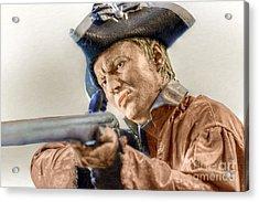 Steady Aim Milita Soldier Acrylic Print by Randy Steele