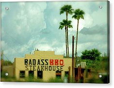 Steak House Acrylic Print by Kristine Patti