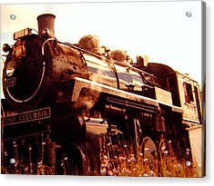 Steam Engine 3716 Acrylic Print