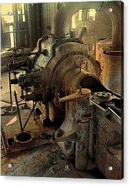 Steam Engine No 4 Acrylic Print