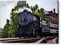 Steam Engine Of Cumberland Acrylic Print by Christina Durity