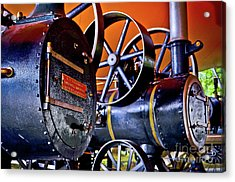 Steam Engines - Locomobiles Acrylic Print