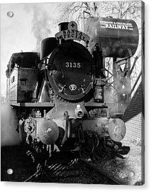 Steam Express Acrylic Print by Steven Sexton