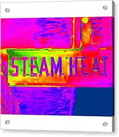 Steam Acrylic Print