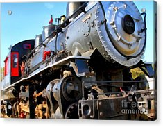 Steam Locomotive Engine 1215 . 7d12980 Acrylic Print by Wingsdomain Art and Photography