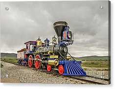 Acrylic Print featuring the photograph Steam Locomotive Jupiter by Sue Smith