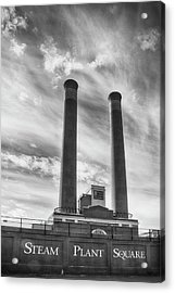 Steam Plant Square Acrylic Print