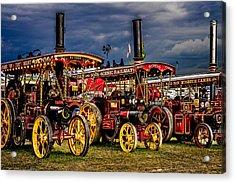 Steam Power Acrylic Print