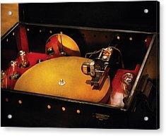 Steam Punk - Hey Dj Make Some Noise Cine-music System Acrylic Print by Mike Savad