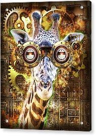 Steam Punk Giraffe Acrylic Print