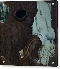 Rusted Away Acrylic Print