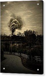 Steam Acrylic Print