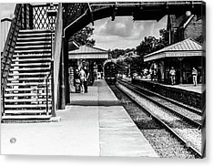 Steam Train In The Station Acrylic Print
