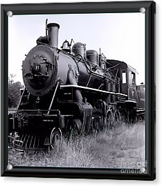 Steam Train Acrylic Print by James  Dierker