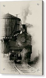 Steam Train Acrylic Print by Jerry Fornarotto