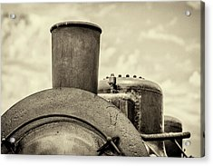 Acrylic Print featuring the photograph Steam Train Series No 2 by Clare Bambers