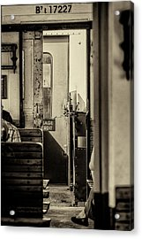 Acrylic Print featuring the photograph Steam Train Series No 33 by Clare Bambers