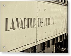 Acrylic Print featuring the photograph Steam Train Series No 34 by Clare Bambers
