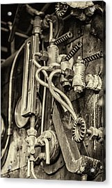 Acrylic Print featuring the photograph Steam Train Series No 36 by Clare Bambers