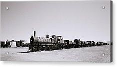Steam Trains Acrylic Print by Shaun Higson