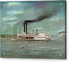 Steamboat Robert E Lee Acrylic Print