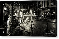 Steamin' Johnny Acrylic Print