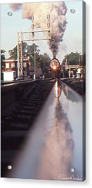 Steaming Up Acrylic Print