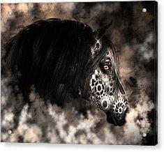 Steampunk Champion Acrylic Print