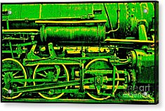 Steampunk Iron Horse No. 3 Acrylic Print by Peter Gumaer Ogden