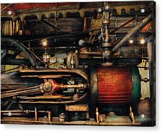 Steampunk - No 8431 Acrylic Print by Mike Savad
