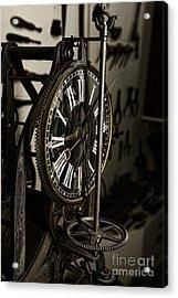 Steampunk - Timekeeper Acrylic Print by Paul Ward
