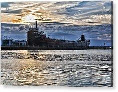 Steamship William G. Mather - 1 Acrylic Print