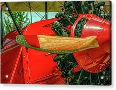 Stearman C3b Biplane Acrylic Print