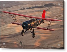 Stearman Model 4dm Sr. Speedmail Acrylic Print