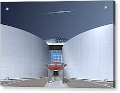 Steel And Sky Acrylic Print