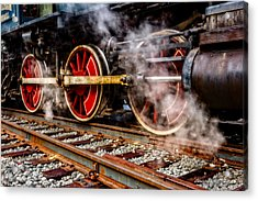 Steel And Steam Acrylic Print