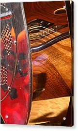 Steel And Wood 2 Acrylic Print by Art Ferrier