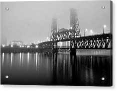 Steel Bridge Acrylic Print