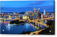 Steel City Nights #1 Acrylic Print