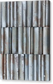 Steel Acrylic Print by Jim Hughes