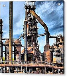Steel Stacks Bethlehem Pa. Acrylic Print