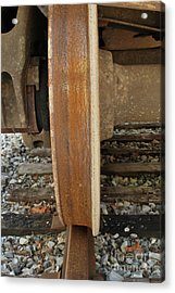 Steel Wheel Acrylic Print