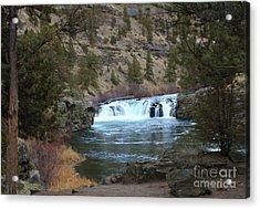 Steelhead Falls Acrylic Print