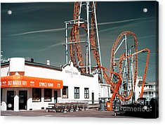 Acrylic Print featuring the photograph Steel's Fudge by John Rizzuto