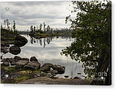 Acrylic Print featuring the photograph Steely Day by Larry Ricker