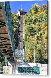 Steep Johnstown Incline Acrylic Print