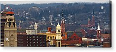 Steeples Of Dubuque Acrylic Print