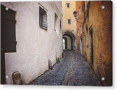 Steingasse Salzburg Acrylic Print